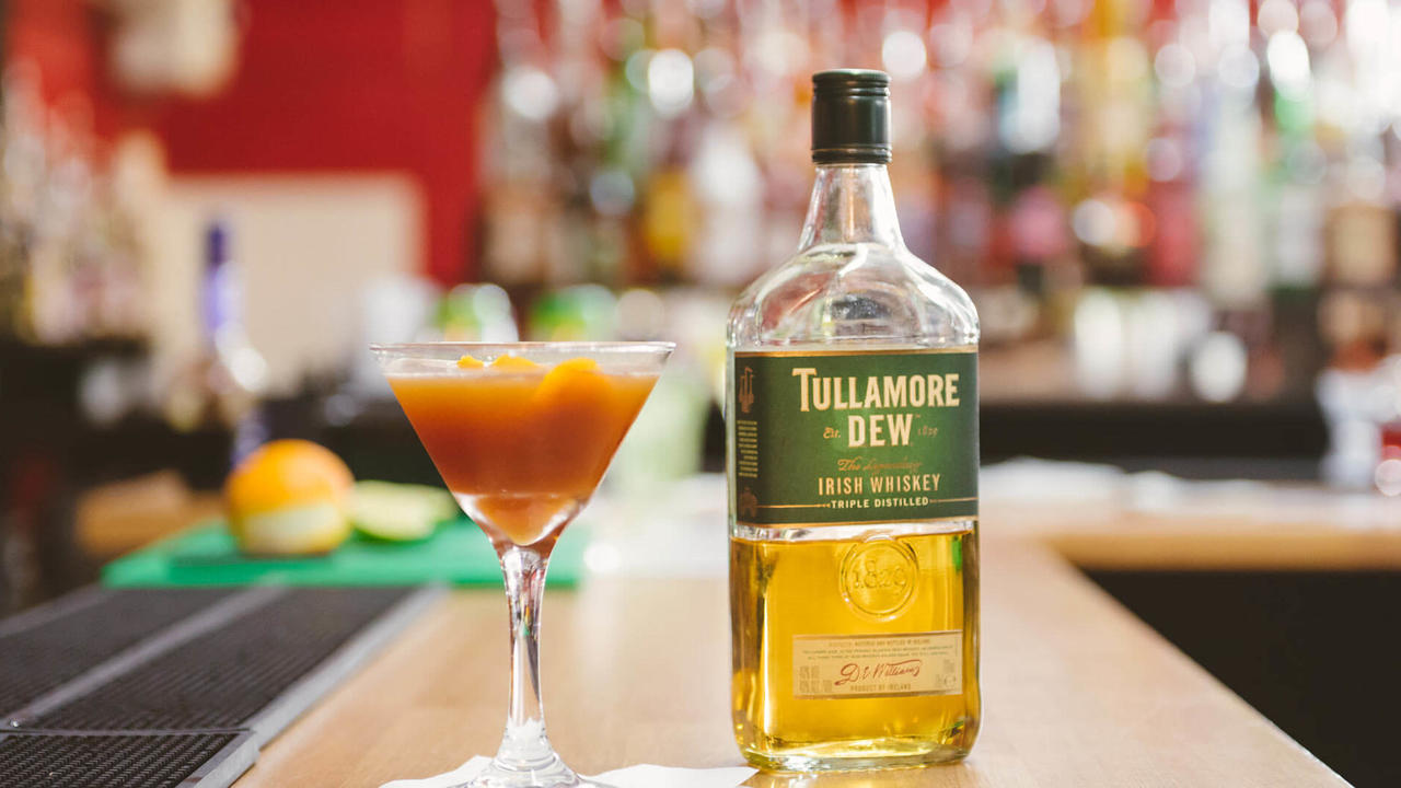 tullamore dew whisky cocktail