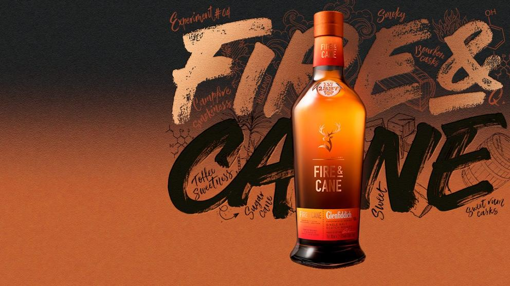 fire and cane glenfiddich experiment